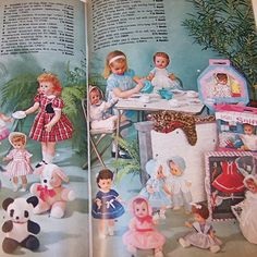 1961 S&H Green Stamps Idea Book Sperry & Hutchinson from ruthsredemptions on Ruby Lane Tiny Dolls, Old Dolls, Antique Dolls, Vintage Dolls, Christmas Catalogs, Christmas Toys, Vintage Christmas, 1960s Toys, Retro Toys