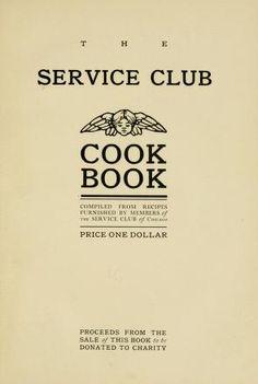The Service club cook book