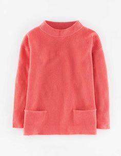 $258 Cashmere Lofty Rib Sweater WV050 Sweaters at Boden