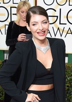 Lorde at the Golden Globes 2015