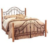 Found it at Wayfair - San Marco Metal Headboard