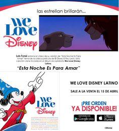 """ESTA NOCHE ES PARA AMAR"", estrena Luis Fonsi su video, recopilación musical dentro del álbum ""@WELOVEDISNEYLATINO #espéralo !  https://youtu.be/gJX8_Htt6Vk?t=140 @universalmusicmexico #disco ""We Love Disney Latino"" We Love Disney Music Disneyland @luisfonsi  @luisfonsi_fc_pr @luisfonsi_fanclub #latinos #family #fun #event @disneycalifornia @California @santaanacalifornia #Anaheim #california #LA #loveminiodas #latina #hispanic #music #miniondas #kids #love"