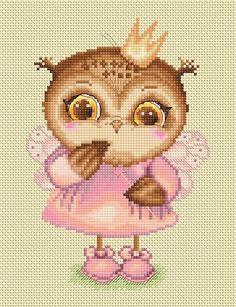 Owlet Princess by Inga Paltser