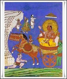 Las Revelaciones del Tarot: Aruna - Mitologia Hindu