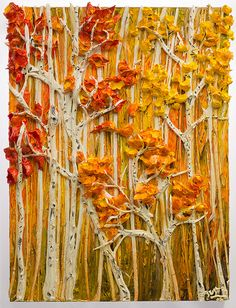 30x40 Apen Trees By: Justin Gaffrey