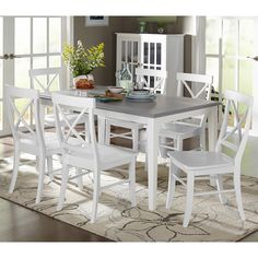 Helena 7 Piece Dining Set | Wayfair