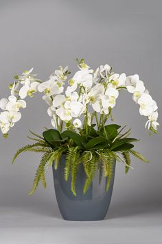 Shop over 100 beautiful artificial flower arrangements. Orchid Arrangements, Artificial Flower Arrangements, Artificial Silk Flowers, Orchids, Diy Projects, Crafts, Handmade, Beautiful, Fake Flower Arrangements