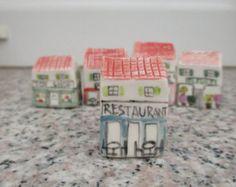 Small Paris HouseParis MiniatureParisterrarium от TatjanaCeramics