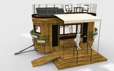 Mobiler Gastronomiewagen Tiny Houses, Desk, Furniture, Home Decor, Fine Dining, Life, Homes, House, Writing Table