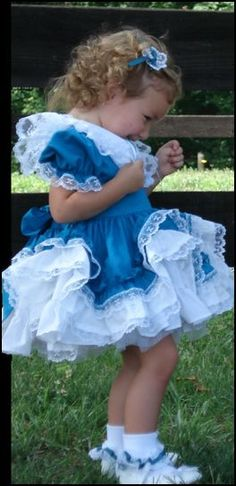 The Lid'l Dolly's dresses and accessories are perfect for your baby girl. They are each beautifully scalloped with ruffles. A soft Southern Belle slip and matching accessories make a complete outfit, perfect for Grandma's pictures, Church, Flower girl dresses, and Easter Sunday. Made here in Pigeon Forge for you to see, celebrating our 20 year anniversary.