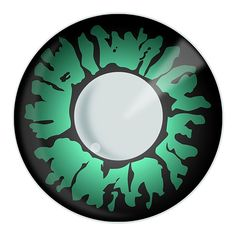 The Green Panther contact lenses are a great choice for anyone going for the feline look. Perfect for fancy dress as a cat or lion, or just to give the wearer a dangerous, sexy, wild animal look.
