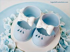 Mary Jane Baby Shoes - SugarEd Productions