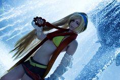 Rikku. Final Fantasy. Cosplayer Dani Dosser. 'aka' Elle, From. Canada. Photo: Cloudbreak.