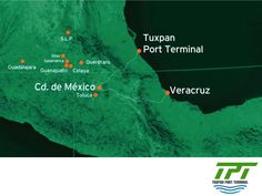 THE BEST PORT TERMINAL IN MEXICO. Now it's really easy to access the valley of Mexico and its surroundings from the port of Tuxpan through the new Mexico-Tuxpan highway. With Tuxpan Port Terminal, exporters and importers of goods, the automotive industry, electronics, perishables, etc., will benefit with the competitive advantage of its strategic location just 182 miles from Mexico City. #tpt #tuxpanportterminal
