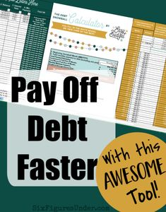I love using the debt snowball calculator because it can manage multiple scenarios and gives me a place to personalize my big picture and track my progress! Frugal Living Tips, Frugal Tips, Money Tips, Money Saving Tips, Debt Snowball Calculator, Debt Payoff, Budgeting Tips, Saving Ideas, Finance Tips