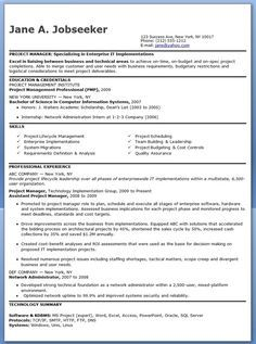Sample Resume For Project Manager Project Manager Candidate  Career  Pinterest