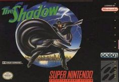 The Shadow. Super Nintendo unreleased Game. Ocean.
