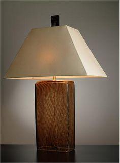 Contemporary Table Lamp from Joseph Pagano