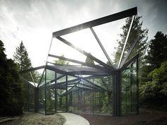 Schauhaus, Gewächshaus in Grüningen, idA Buehrer Wuest Architekten