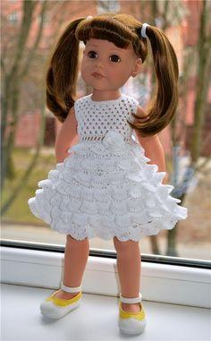 Платья и жакетик для кукол Готц высотой 50 см / Одежда для кукол / Шопик. Продать купить куклу / Бэйбики. Куклы фото. Одежда для кукол