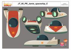 Props e efeitos especiais do seriado Jamie's got Tentacles | THECAB - The Concept Art Blog