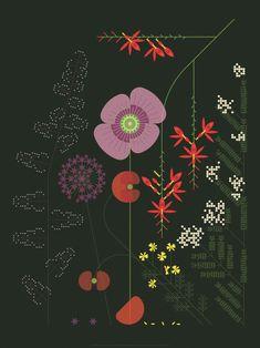 Star Master, Album Design, Floral Wall, Japanese Art, Print Patterns, Illustration Art, Wall Decor, Concept, Retro