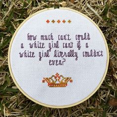 Cross Stitch Design 50 Cross Stitch Patterns To Show Off Your Personality - The cross stitch game has changed. Cross Stitch Games, Cross Stitch Quotes, Diy Embroidery, Cross Stitch Embroidery, Hand Embroidery Patterns, Cross Stitch Designs, Cross Stitch Patterns, Naughty Cross Stitch, Cross Stitching