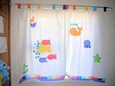 cortinas de tela para dormitorio de niños - Buscar con Google