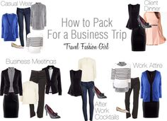 Business Trip Packing List for Minimalist Fashionistas