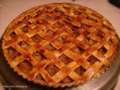 Food For Thought, Apple Pie, Sweets, Meals, Baking, Desserts, Recipes, Foods, Pies