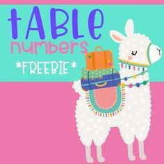 Llama & Cactus Table Numbers Use the blank ones to write problem solving and/or communication skills. This set of Llama and Cactus . Classroom Table Numbers, Spanish Classroom Decor, Classroom Decor Themes, Classroom Freebies, Kindergarten Classroom, Classroom Organization, Future Classroom, Classroom Ideas, Bilingual Kindergarten