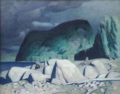 Alfred Joseph Casson, 'Aftermath' at Mayberry Fine Art
