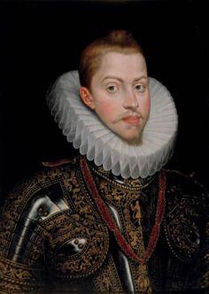 Juan Pantoja de la Cruz. Retrato de Felipe III