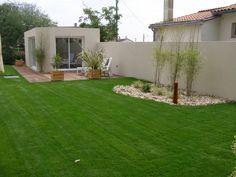 Ambiance jardin- Mes réalisations- Ambiance jardin : création et aménagement extérieur de jardins, pelouse, gazon à Pornic en loire atlantiq...