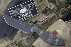 The Dawson Kalanu Fighter designed by Chad McBroom of Comprehensive Fighting Systems