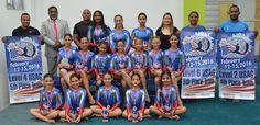 Gimnastas del club Naco logran 55 medallas en torneo de Florida