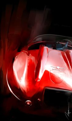 Discover recipes, home ideas, style inspiration and other ideas to try. Car Posters, Poster S, Alfa Romeo, Car Themes, Mobile Art, Automotive Design, Automotive Group, Classic Sports Cars, Car Illustration