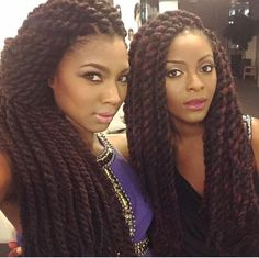 Awesome Marley twists braids Must try - Afro Fahionista Marley Twists, Marley Twist Styles, Havana Twists, Marley Braids, Jumbo Havana Twist, Havana Braids, My Hairstyle, Twist Hairstyles, Protective Hairstyles