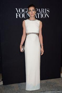 Los mejores looks de la fiesta Vogue Paris Foudation: Charlotte Casiraghi