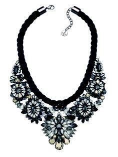 Swarovski by Shourouk necklace #flowernecklace #diamonds #bling #jewels