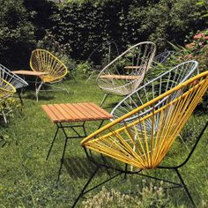 We're in of some chairs for our new patio and I'm considering the classic Acapulco Chair.