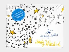 "Andy Warhol's ""So Many Stars"" board book, featuring illustrations never seen before. Just wonderful baby and toddler gif."