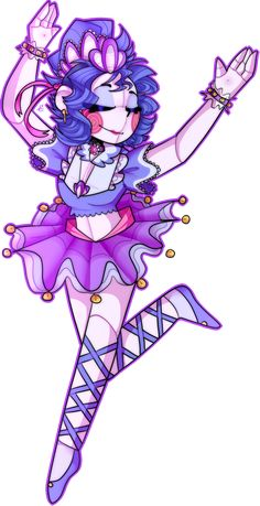 ASDFGHJKL THIS IS REALLY LATE BUT sister location's anniversary was around this month so i decided to redraw one of my first pics of the main characters! Ballora Fnaf, Anime Fnaf, Anime Art, Fnaf Drawings, Kawaii Drawings, Ballora Sister Location, Fnaf Wallpapers, Circus Baby, Fnaf Characters