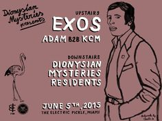 Dionysian Mysteries Presents Exos | TROPICULT