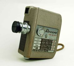 Revere Eight 8mm Vintage Movie Camera, Model 80
