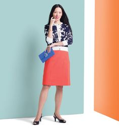 Summer Office Fashion   Ann Taylor   LifeStride   Kate Spade   Giles & Brother