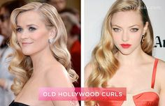 How to do every type of curl Old Hollywood Waves