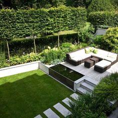 pinterest déco jardin terrasse-amenagement-exterieur-modele