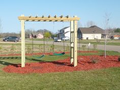 Inspiring Swing Sets For Small Backyard Pictures Ideas