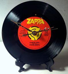 Recycled FRANK ZAPPA 7 Record / Dancin' Fool / by RavenRecordShop